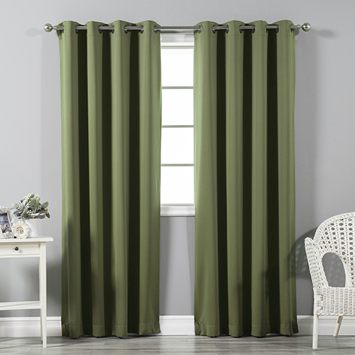 Rose Street Olive 96 x 52 In. Thermal Insulated Blackout Curtain Panel