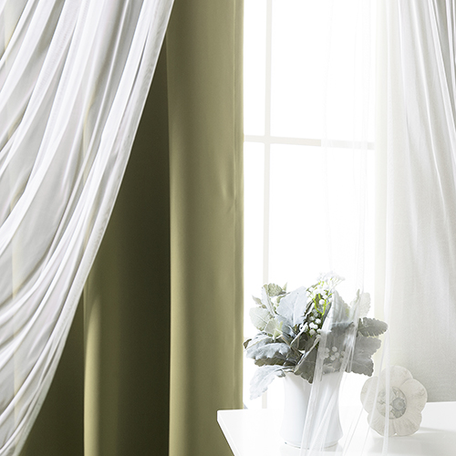 Rose Street Olive 80 x 84 In. Blackout Window Treatments, Set of Two