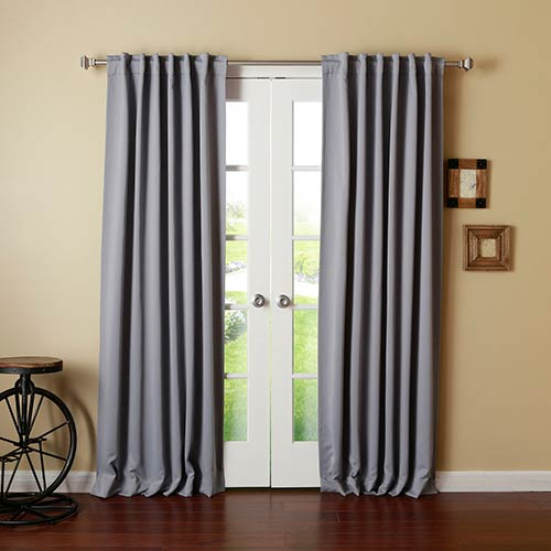 Rose Street Grey 96 x 52 In. Curtain Panel