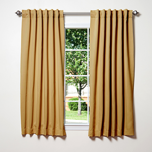 Rose Street Wheat 52 x 63 Curtain Panel