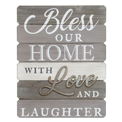 Bless Our Home With Love And Laughter Wall Art