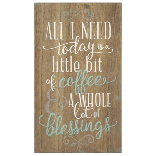 Stratton Home Décor Coffee And Blessings Wall Art