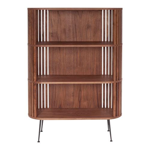 Henrich Brown Book Shelf