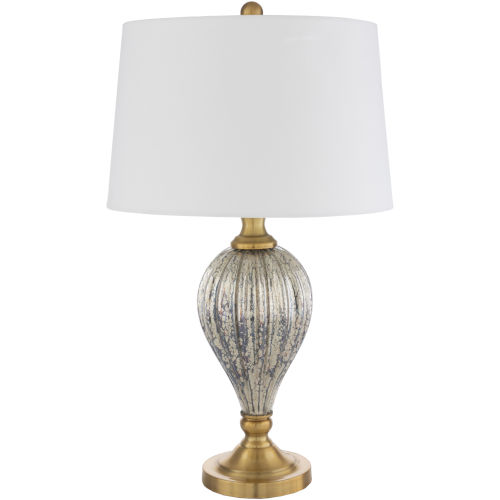 Abram Gold 15-Inch One-Light Table Lamp