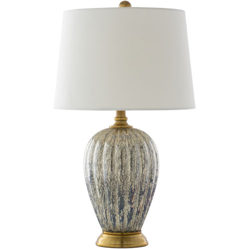 Abram Gold 24-Inch One-Light Table Lamp