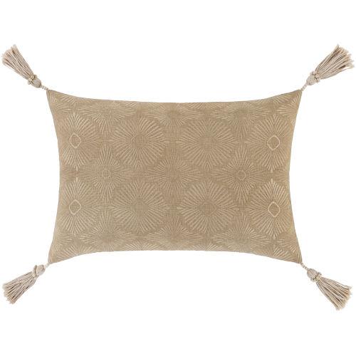 Accra Khaki 13-Inch Throw Pillow