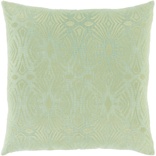 Accra Mint 22-Inch Throw Pillow