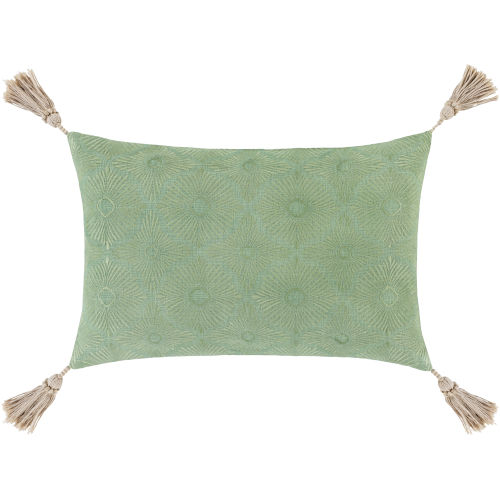 Accra Mint 13-Inch Throw Pillow