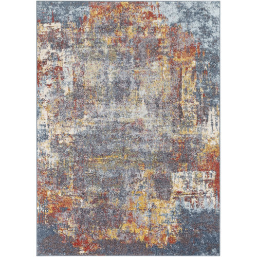 Ankara Multi-Color Rectangle 6 Ft. 7 In. x 9 Ft. Rugs