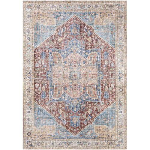 Amelie Burnt Orange Rectangle 2 Ft. x 2 Ft. 11 In. Rugs