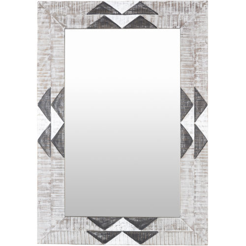 Amrapali White Wall Mirror