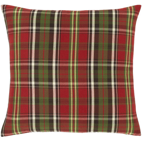 Allison Cherry and Green Throw Pillow