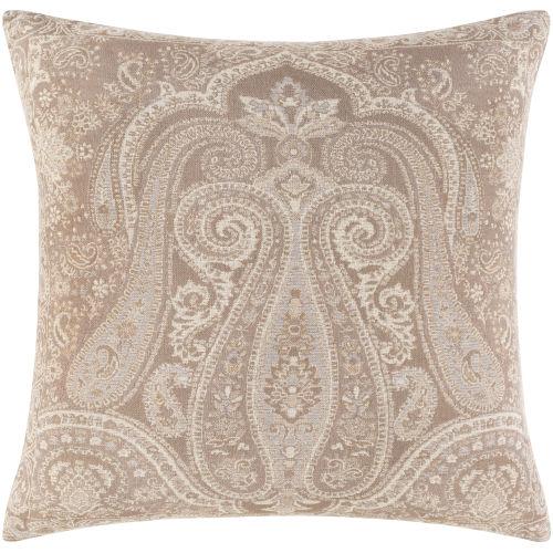 Boteh Camel 20-Inch Throw Pillow