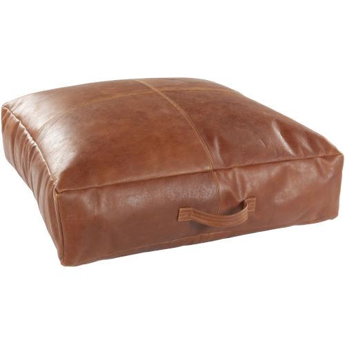 Barrington Camel 24-Inch Floor Pillow