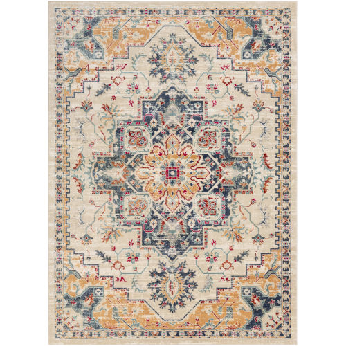 Bohemian Wheat Rectangle 5 Ft. 3 In. x 7 Ft. 4 In. Rugs