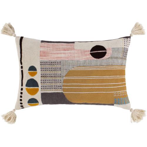 Columbus Multi-Color 14-Inch Throw Pillow