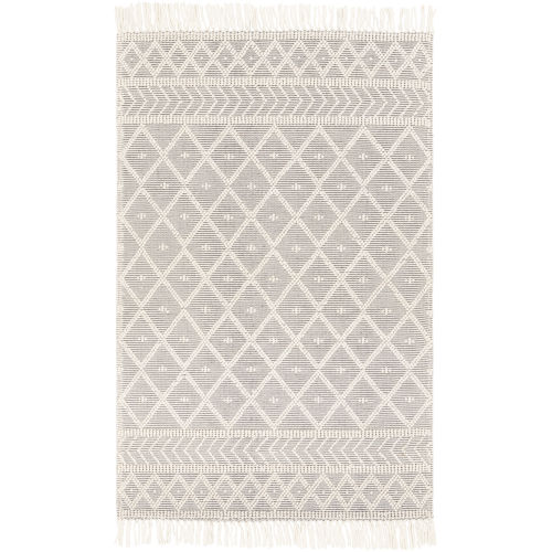 Casa Decampo Medium Gray Rectangle 5 Ft. x 7 Ft. 6 In. Rugs