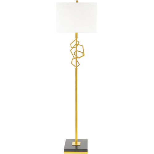 Cosworth Gold 16-Inch One-Light Floor Lamp