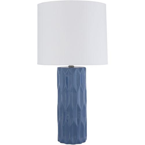 Draven Blue One-Light Table Lamp