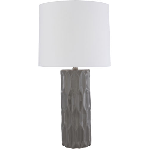 Draven Grey One-Light Table Lamp