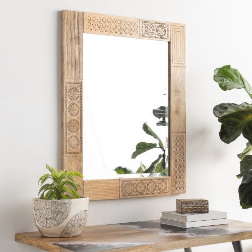 Dilwara Natural Wall Mirror