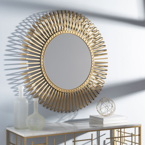 Errol Gold 40-Inch Wall Mirror