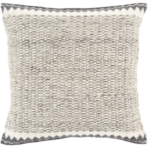 Faroe Ivory 18-Inch Pillow With Polyester Fill