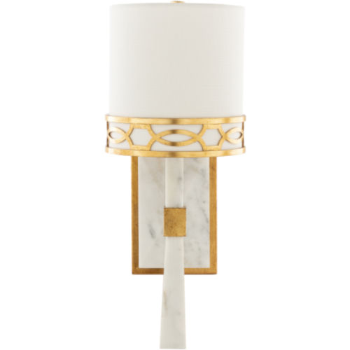 Filligree White Wall Sconce