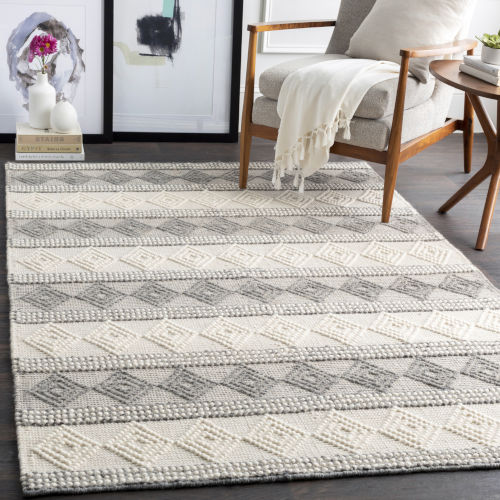 Hygge Charcoal Runner: 2 Ft. 6 In X 8 Ft. Rug