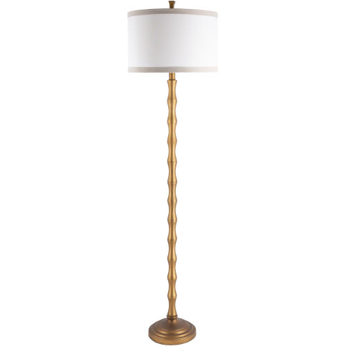 Jutka Gold 17-Inch One-Light Floor Lamp