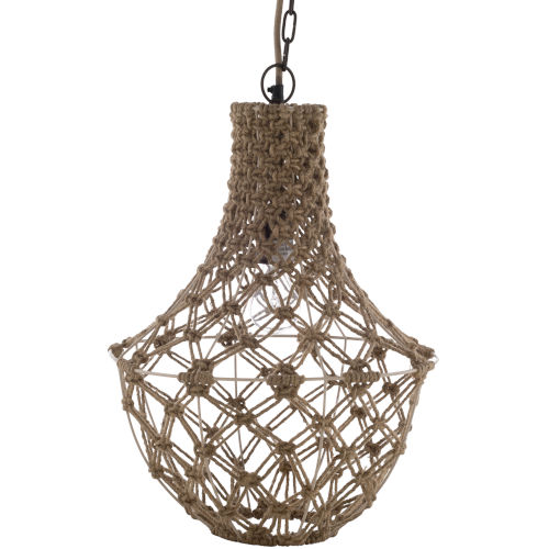 Kaylee Natural 14-Inch One-Light Pendant