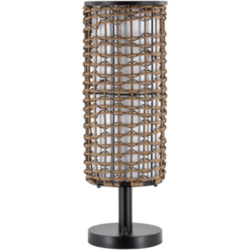 Kitto Brown 8.25-Inch One-Light Floor Lamp