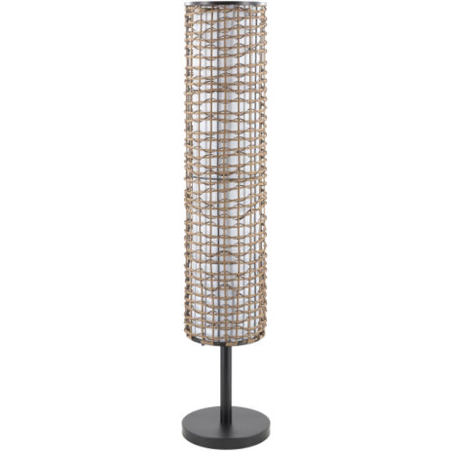Kitto Natural 9.25-Inch Two-Light Floor Lamp