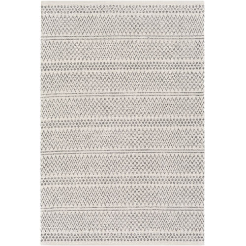 La Casa Charcoal Rectangle 2 Ft. 2 In. x 3 Ft. 9 In. Rugs