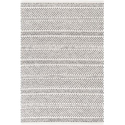 La Casa Black Stripe Rectangle 2 Ft. x 3 Ft. Rug