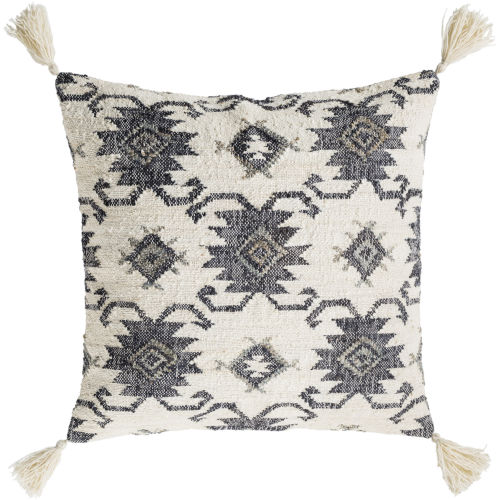 Lenora Black Pillow Cover