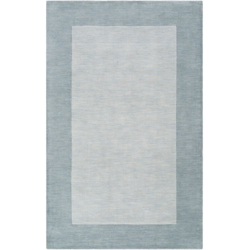 Mystique Pale Blue Rectangle 7 Ft. 6 In. x 9 Ft. 6 In. Rugs