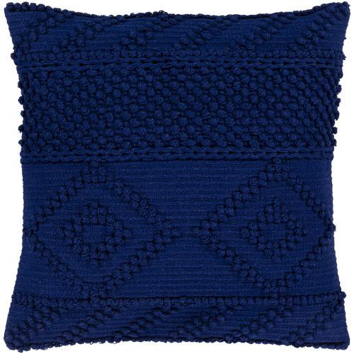 Merdo Navy 22-Inch Pillow Cover