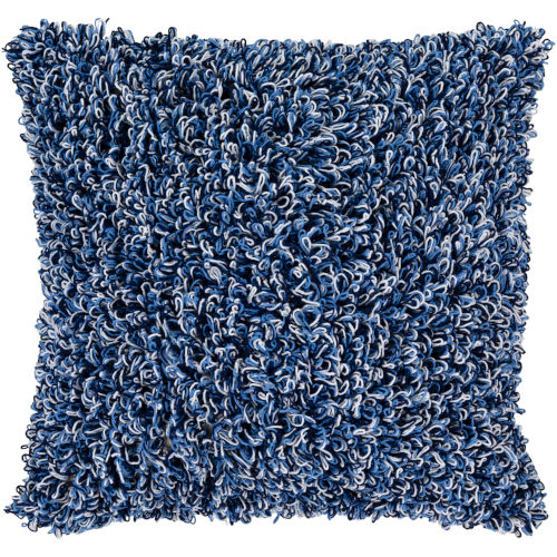 Merdo Blue Pillow Cover
