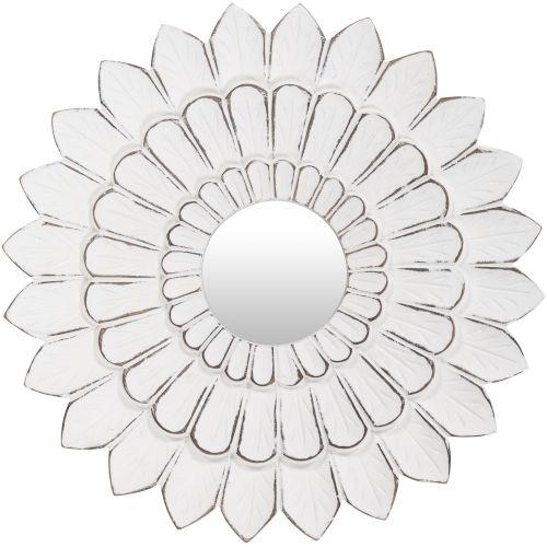 Maneka White 15-Inch Wall Mirror