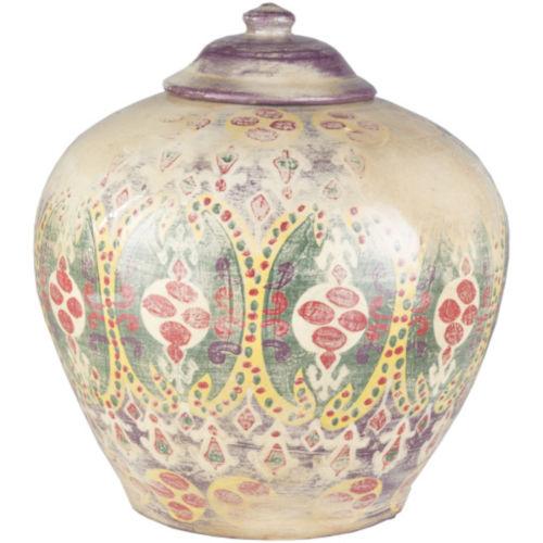 Meeks Multicolor 10-Inch Decorative Jar