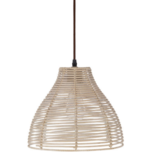 Manning Light Rattan One-Light Pendant