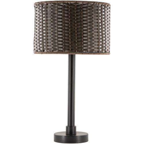 Montague Black One-Light Floor Lamp