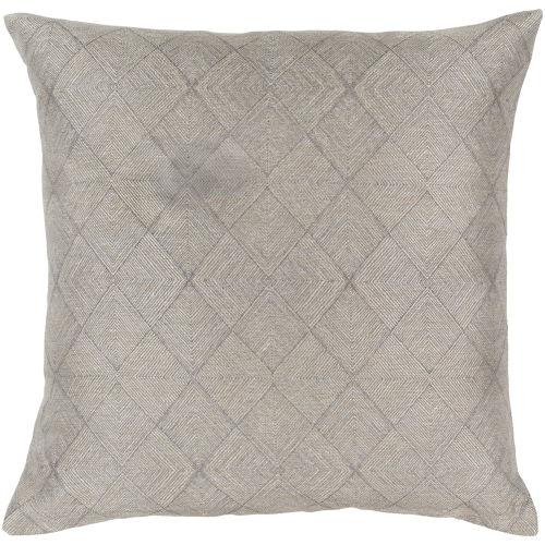 Surya Messina Champagne 22 Inch Pillow Cover Msa002 2222 Bellacor