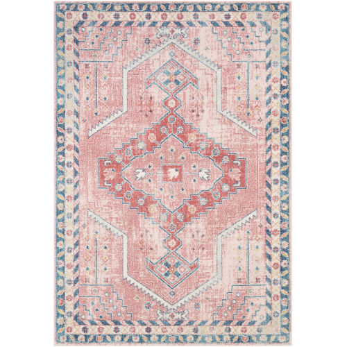 Murat Coral Rectangle 7 Ft. 10 In. x 10 Ft. Rug