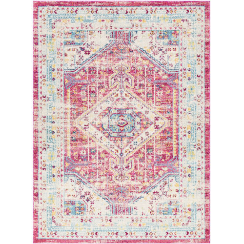 Norwich Bright Pink Rectangle 6 Ft. 7 In. x 9 Ft. Rugs