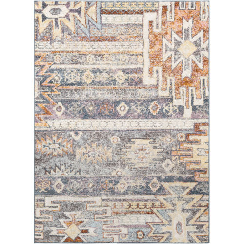 New Mexico Medium Gray Rectangle 2 Ft. x 3 Ft. Rugs