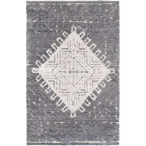 Padma Charcoal Rectangle 2 Ft. x 3 Ft. Rugs
