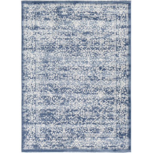 Roma Navy Rectangle Rugs