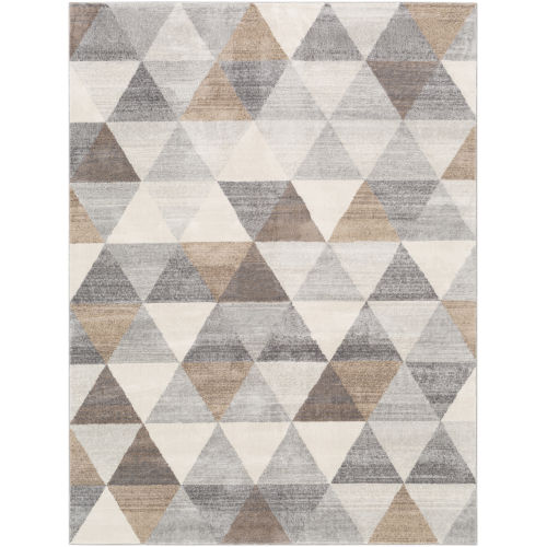 Roma Medium Gray Rectangle 5 Ft. 3 In. x 7 Ft. 1 In. Rugs